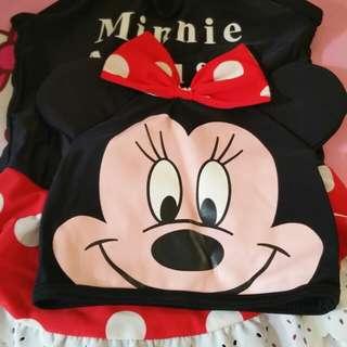 Baju renang minie mouse
