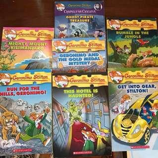 Geronimo Stilton Books