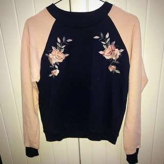 EMBROIDERED COLORBOX SWEATER