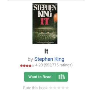 EBOOK IT STEPHEN KING