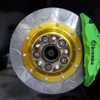 RMS R35 Brake disc with hub