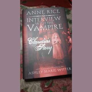 INTERVIEW WITH THE VAMPIRE by Anne Rice graphic novel (Claudia's story)