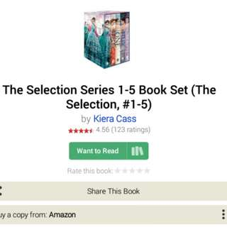EBOOK THE SELECTION SERIES