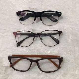 Changeable Lens Eyeglasses
