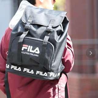日本直送FILA背囊(黑色)