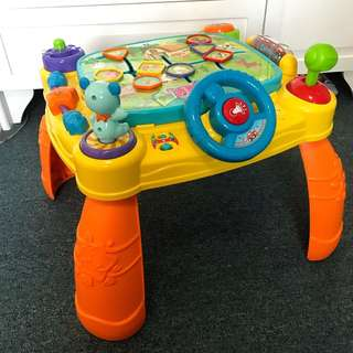 Vtech iDiscovery App Activity Table