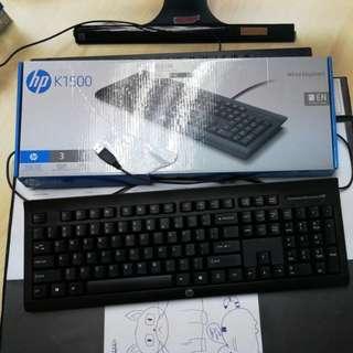 HP K1500 Wired Keybroad