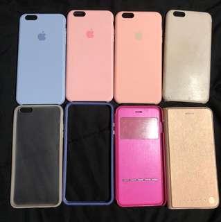 Apple iPhone 6/6S PLUS cases (9 pack)