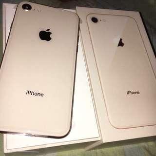 Iphone 8 (64gb) Rosegold