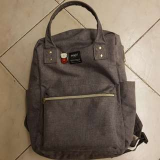 Anello Canvas Square Backpack
