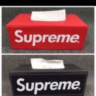 Supreme Tissue Box