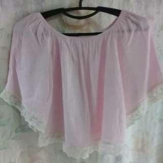 Pink Summer Top