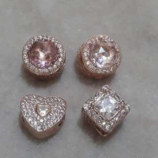 Pandora Charm Rose Gold 🎀
