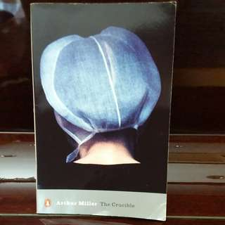 The Crucible by Arthur Miller Book