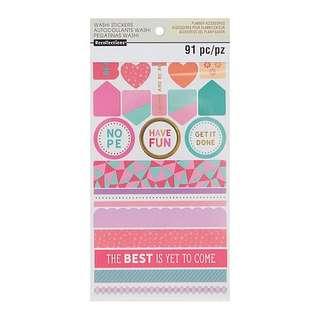 Warm & Cool Washi Sticker Book by Recollections