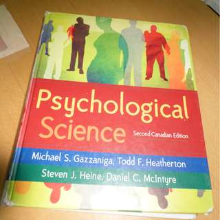 Psychological Science, 2nd ed.