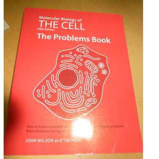 Molecular Biology of the Cell, 5th ed: Problems Book
