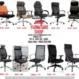 High Quality -Executive Chairs * Office Partition