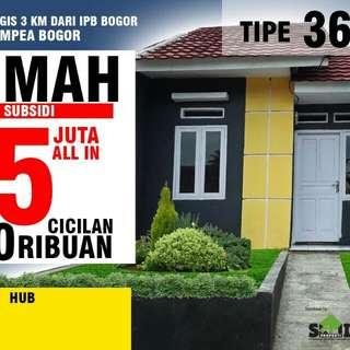 Rumah subsidi Ciampea,Bogor