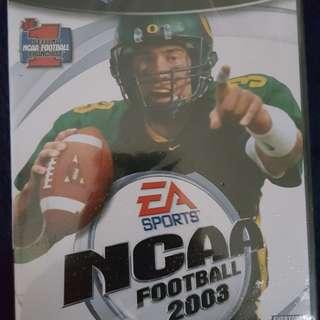 NCAA FOOTBALL2003(GAMECUBE)