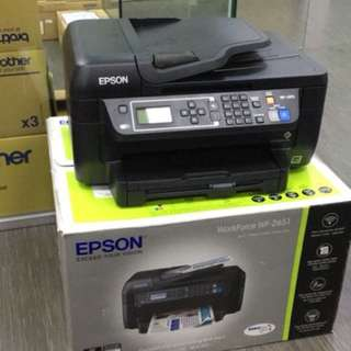 <Display Set for Clearance> Epson WF2651 4 in 1 multifunctional Printer!!