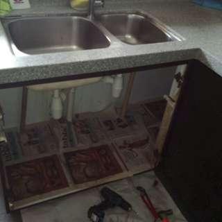 Repair of Kitchen Cabinet