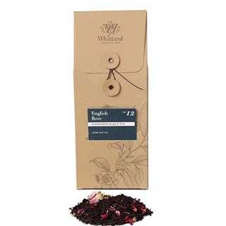 現貨🌹Whittard 英國品牌 玫瑰茶袋 loose tea 100g