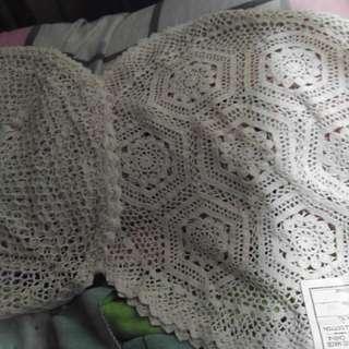 鈎針枕頭套 16寸 2個 no 160