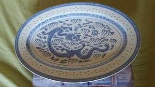 Porcelain Dragon Plater