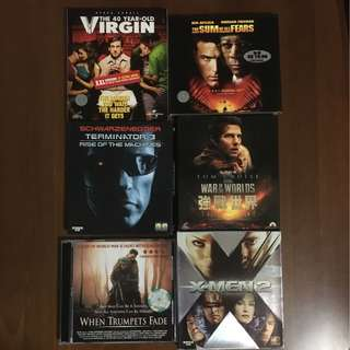 Movie VCDs - Assorted Titles (English)