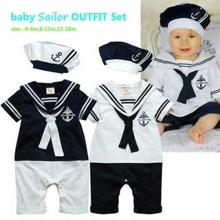 Sailor's Outfit Set - Clothing