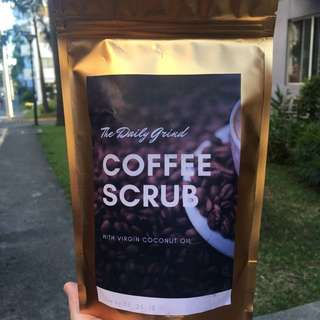 Coffee Scrub All Natural No chemicals