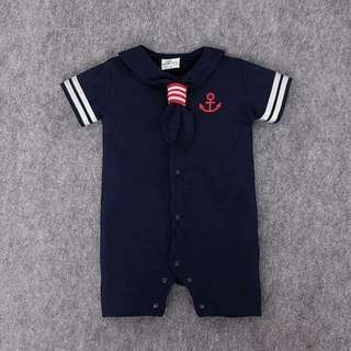 Sailor's Outfit Romper - Clothing