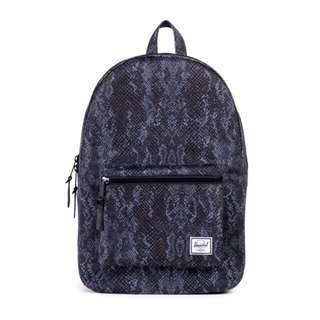 🎉SALE🎉 HERSCHEL SUPPLY SETTLEMENT BACKPACK (BLACK SNAKE)