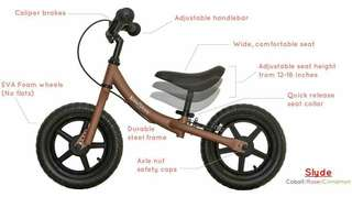 Balance Bike (slyde by kids who ride)