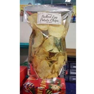 Anna's Salted Egg Potato Chips