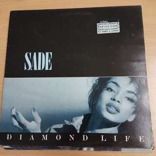 Sade Diamond Life Vinyl LP Original Pressing Rare