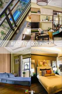READY FOR OCCUPANCY CONDOMINIUM IN NORTH EDSA QUEZON CITY (BIGGER UNIT LAYOUTS & RESORT INSPIRED AMENITIES)