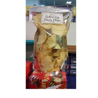 Anna's Salted Egg Potato Chips