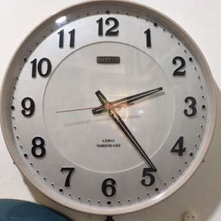Vintage Rhythm Wall Clock - Original Engine RM200 free post