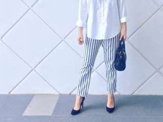 Forever 21 stripes pants