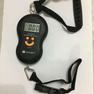 Digital Luggage Scale (Delsey), portable size.