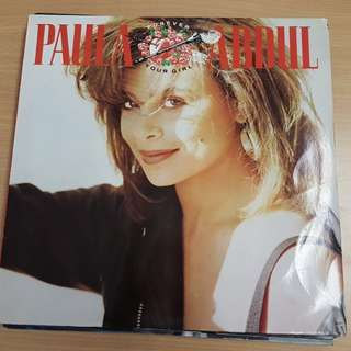 Paula Abdul Forever Your Girl Vinyl LP Original Pressing Rare