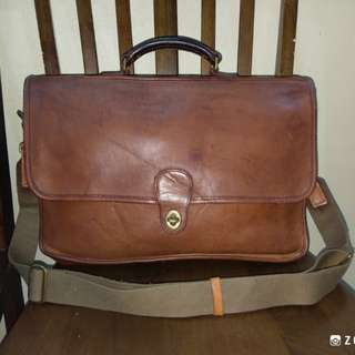 Shoulder Breifcase Leather Coach Beekman