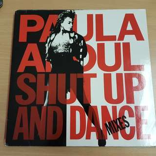 Paula Abdul Shut Up and Dance Mixes Vinyl LP Original Pressing Rare
