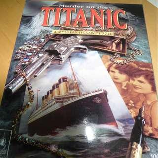 Titanic Mystery Jigsaw Puzzle