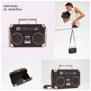 Original Aldo Radio Sling Bag