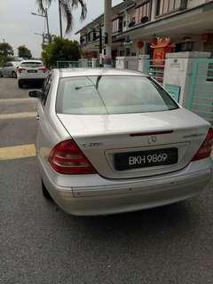 Mercedes benz c200k