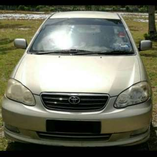 Toyota Altis 1.6A 2006 Pahang
