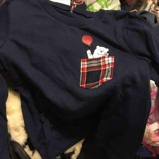 Spiritoso polar bear top 上衣 衫